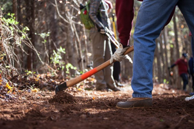 New Year, New Trail! Get Your Hands Dirty at Pocahontas SP and Belle Isle this Saturday