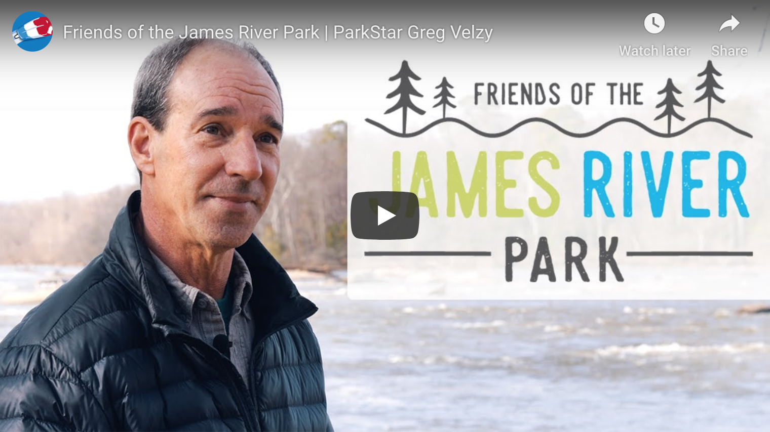 Meet Greg Velzy: James River 'ParkStar'