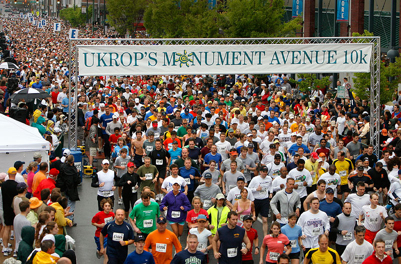 Monument Avenue 10k Postponed Until September