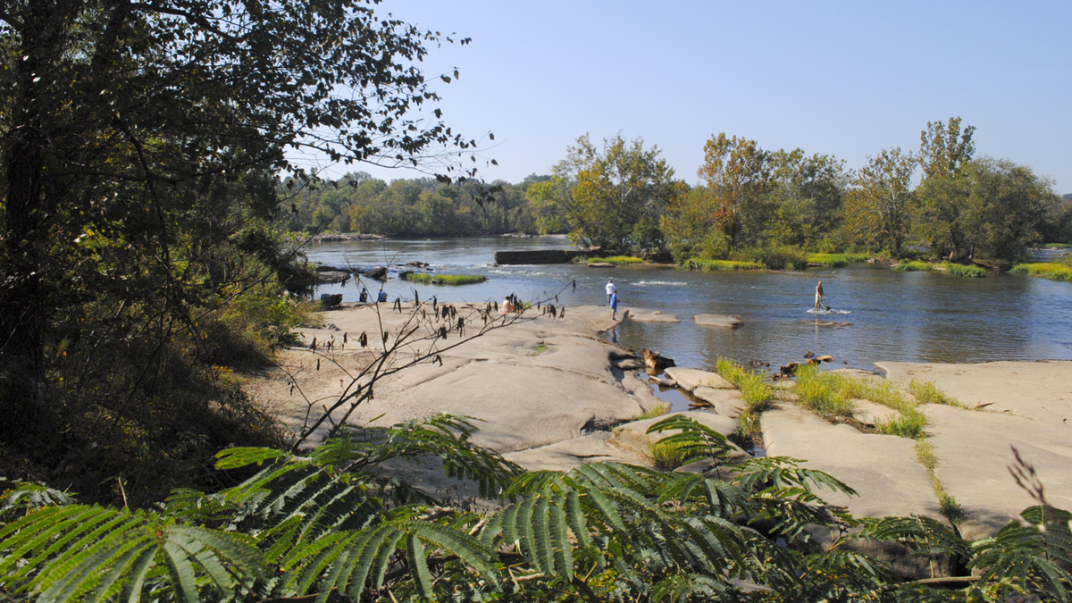 Richmond to Restrict Access to Public Spaces, Including James River Park
