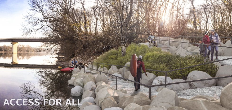 Universal Access at Huguenot Flatwater Now Fully Funded